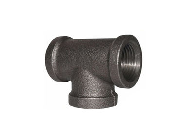 NPT Treaded 3 4 Ống Tee 3 Way Pipe Connector Với tinh luyện luyện kim
